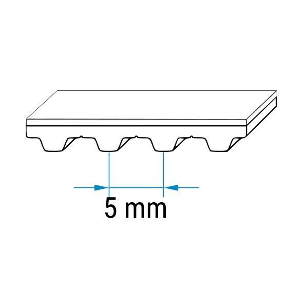 Zahnriemen PIX X/'pedientPU 25-T5-560PU Stahlzugstrang112 Zähne