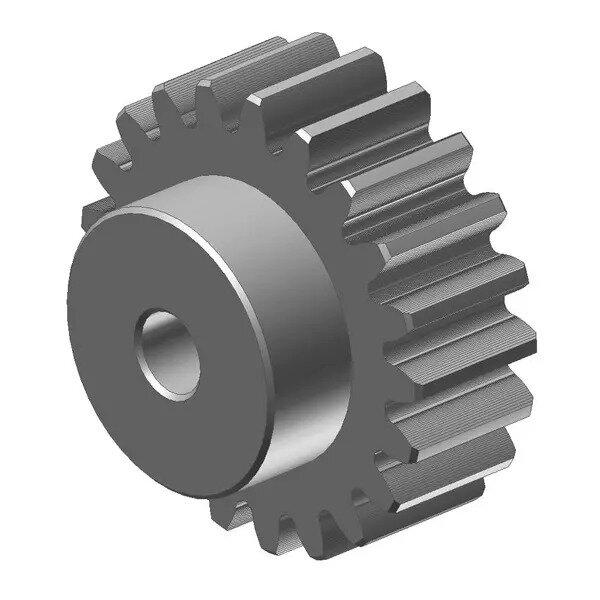 Zahnrad Stirnrad Stahl C45 Motorgetriebe Stirnradgetriebe 2 Modul 14 Zähne 2M14T